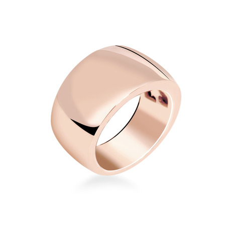 Bague or rose