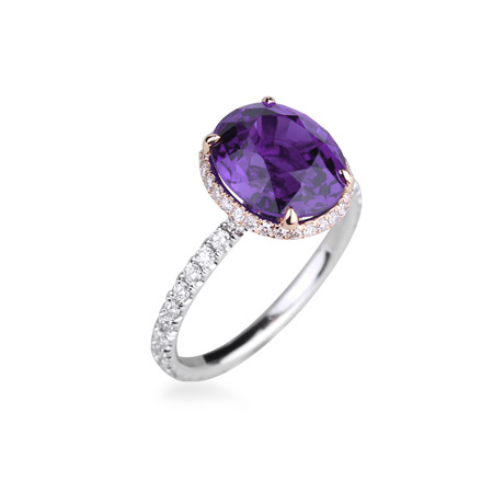 Crown amethyste