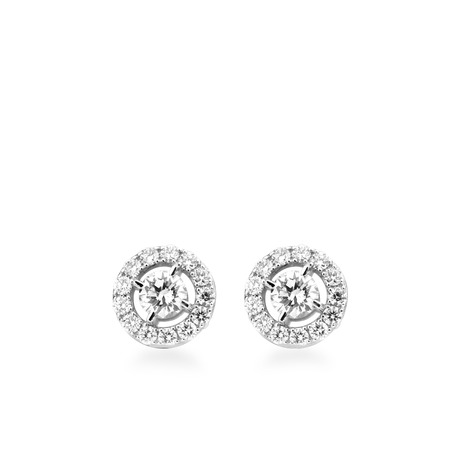 Boucles Versailles or blanc