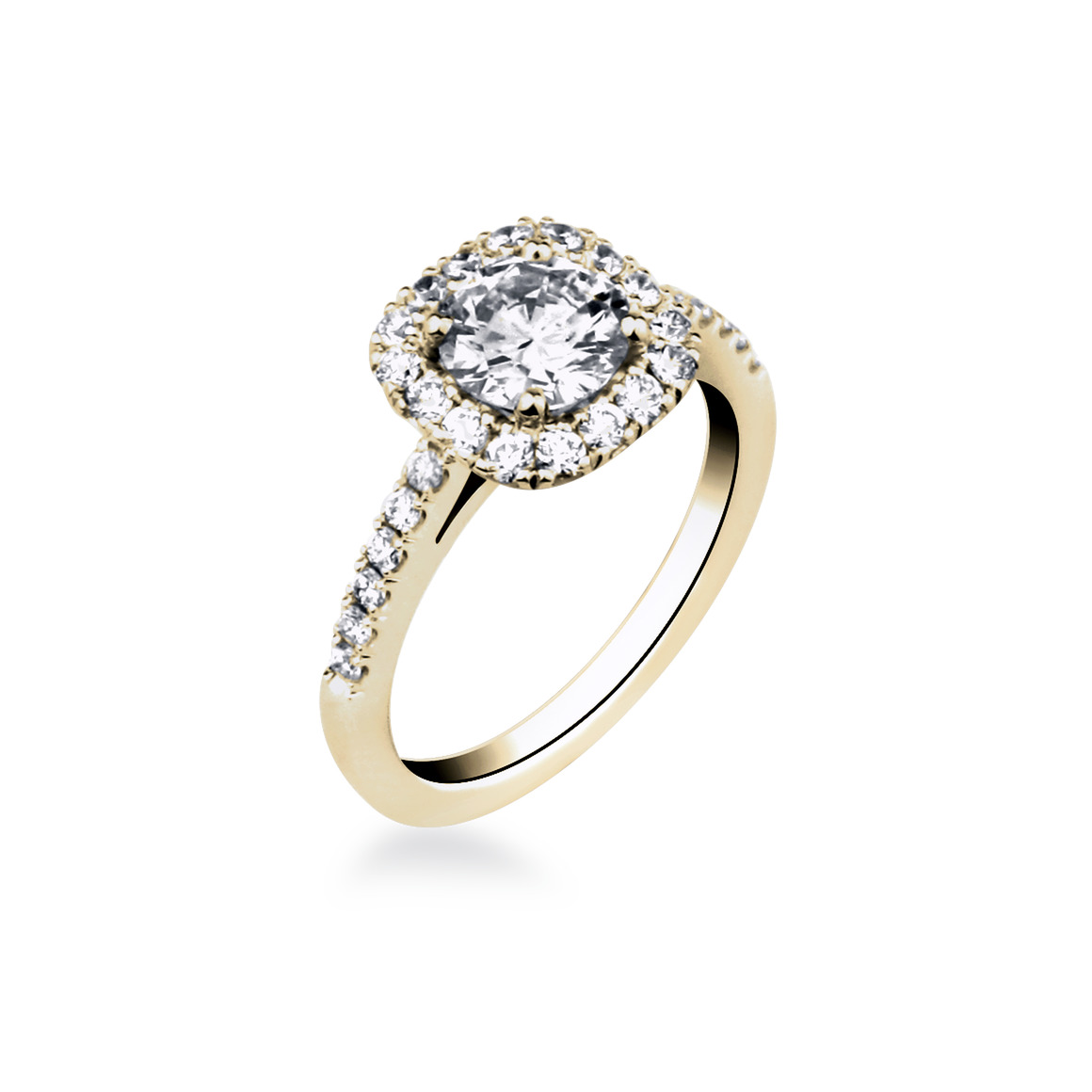 bague or diamant fiancaille